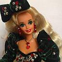 Кукла Барби Коллекционная Счастливого Рождества 1991 Barbie Happy Holidays 1871, фото 4