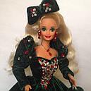 Кукла Барби Коллекционная Счастливого Рождества 1991 Barbie Happy Holidays 1871, фото 5