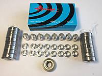 Набір підшипники ABEC-5 з втулками для роликових ковзанів, скейтів та самокатів, фото 1