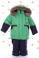Детский зимний костюм двойка ( куртка +полукомбинезон)