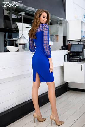 Платье рукав сетка 04с435, фото 2