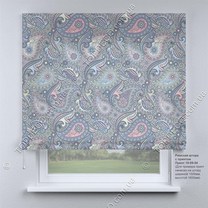 Римская фото штора Арабеска. Бесплатная доставка. Инд.размер. Гарантия. Арт. 15-09-54