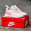 Женские кроссовки Nike Air Max 270 Pink White розовые, фото 3