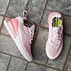 Женские кроссовки Nike Air Max 270 Pink White розовые, фото 6