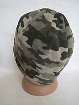 Шапка флисовая, камуфляжная (XL) 58-60, фото 2