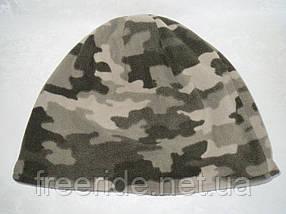 Шапка флисовая, камуфляжная (XL) 58-60, фото 3