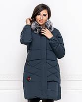 Куртка зимова в кольорах 04ат1908, фото 2