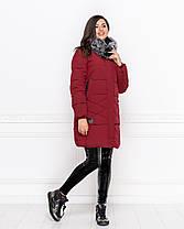 Куртка зимова в кольорах 04ат1908, фото 3