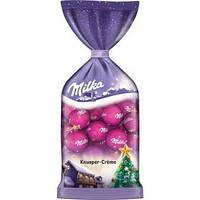Milka Рождественские шарики Хрустящие сливки 100г