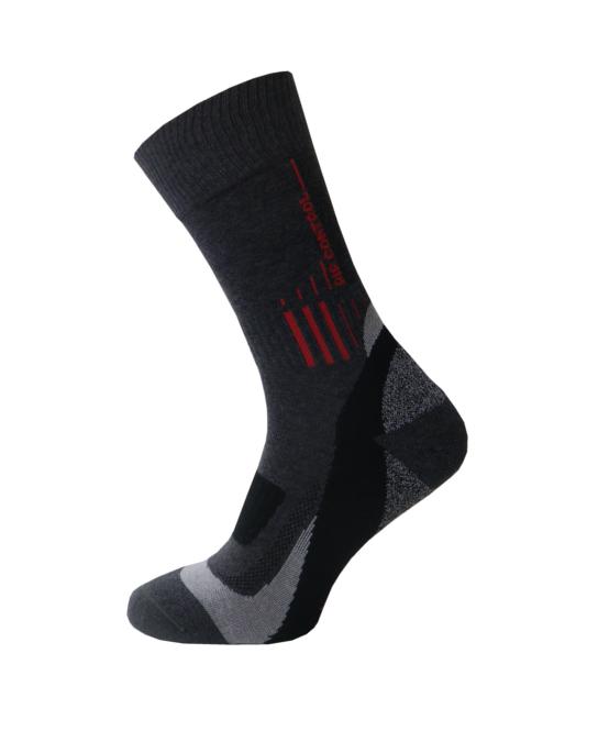 Спортивные треккинговые носки Sesto Senso Trekking Basic хлопковые демисезонные, термоноски