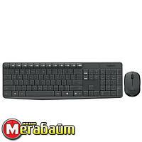 Набор (клавиатура, мышь) Logitech MK235 Black USB (920-007948)
