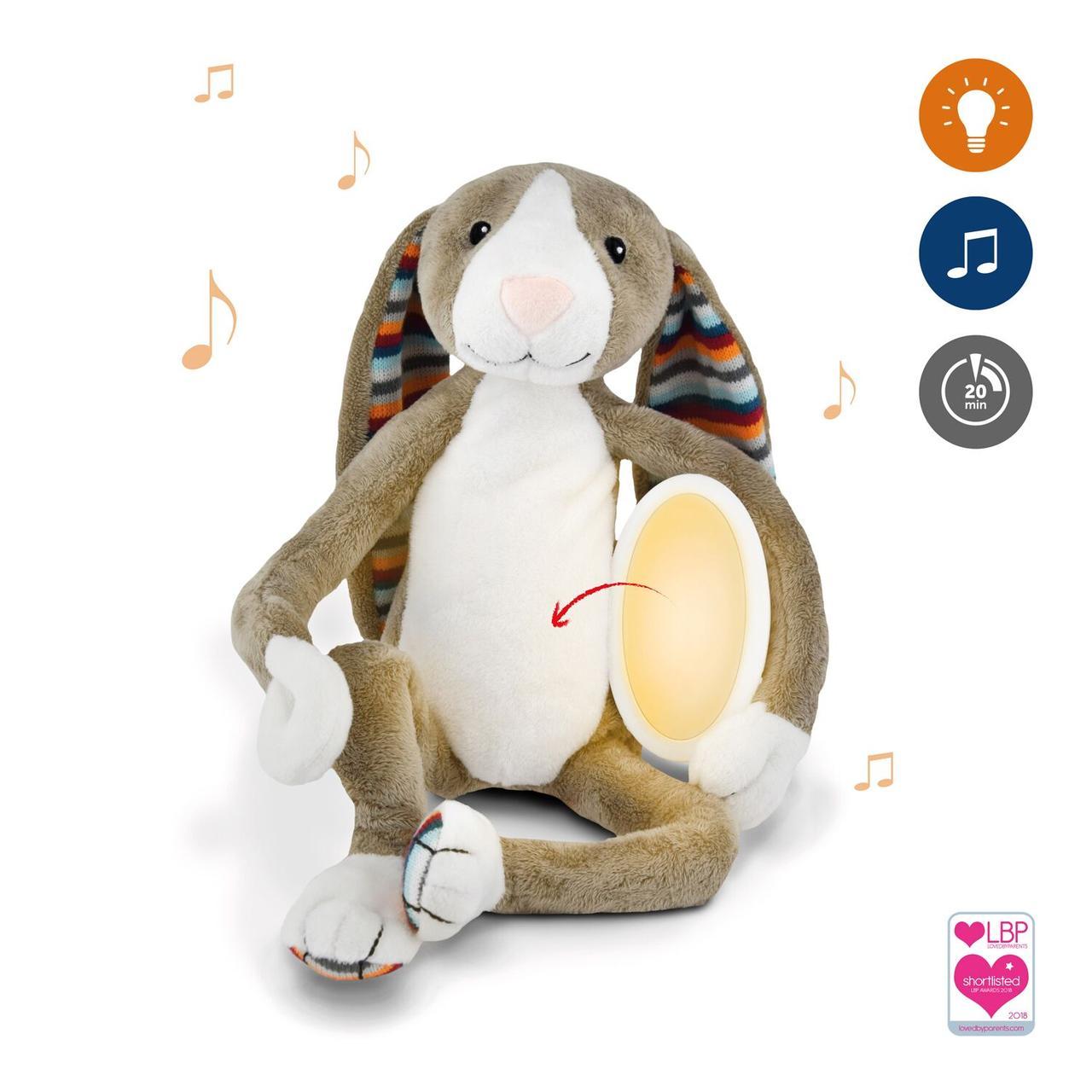 ZAZU - Музыкальная мягкая игрушка с ночником BO