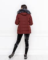Куртка зимняя в расцветках  04ат1985, фото 2