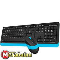 Набор (клавиатура, мышь) A4Tech FG1010 Black/Blue USB