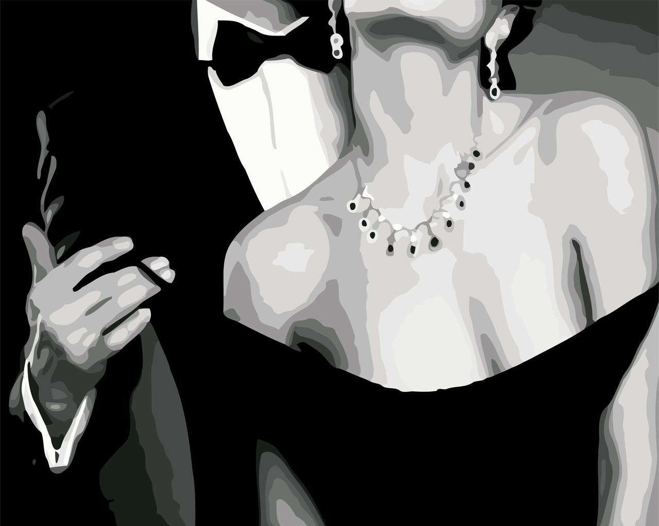 Художественный творческий набор, картина по номерам Роскошная пара, 50x40 см, «Art Story» (AS0569)