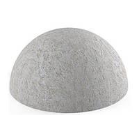 Полусфера бетонная серая ∅410мм 30кг