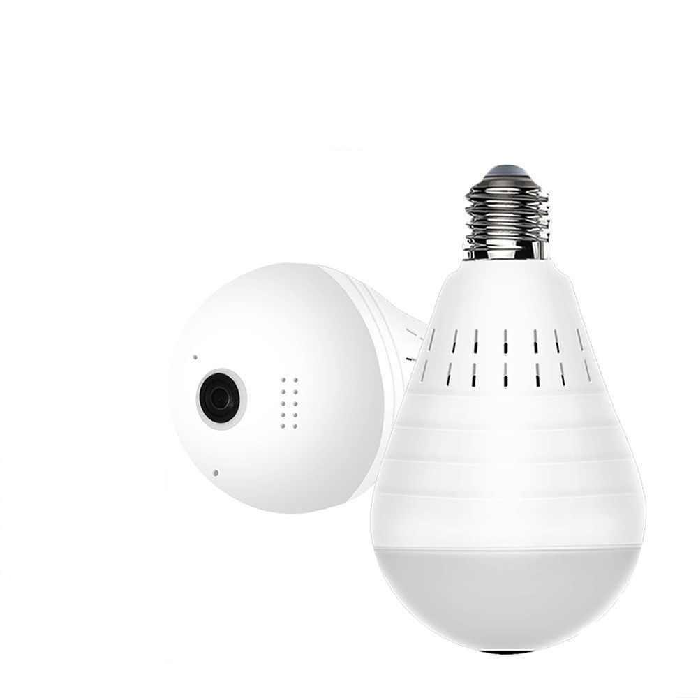 Панорамна Wi-Fi IP камера 360 ° (лампа) EC75B-P12