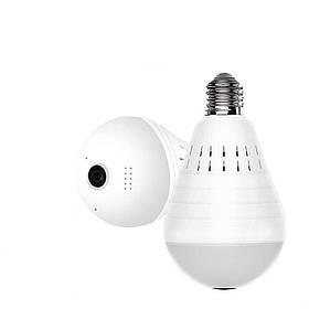 Панорамная Wi-Fi IP камера 360° (лампа) EC75B-P12