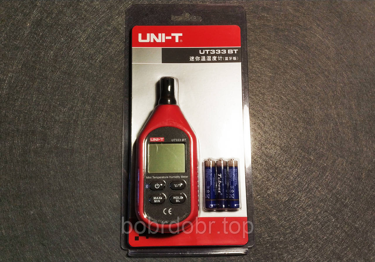 UNI-T | Термогигрометр | Измерение температуры и влажности | Bluetooth