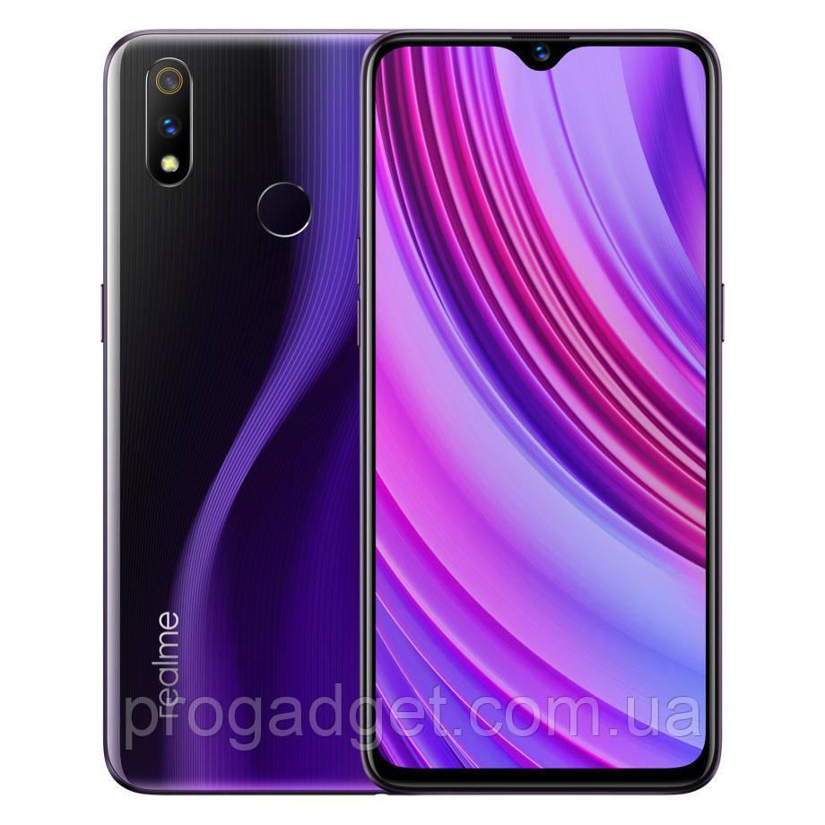 "Смартфон Realme 3 Pro 4/64 Global Purple 6.3"" FHD+ IPS, Snapdragon 710, 4000 мАч, Sony IMX519+4K"