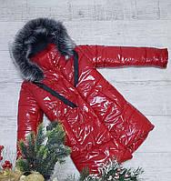 Зимняя куртка 885 на размеры от 134 см до 152 см рост, фото 1
