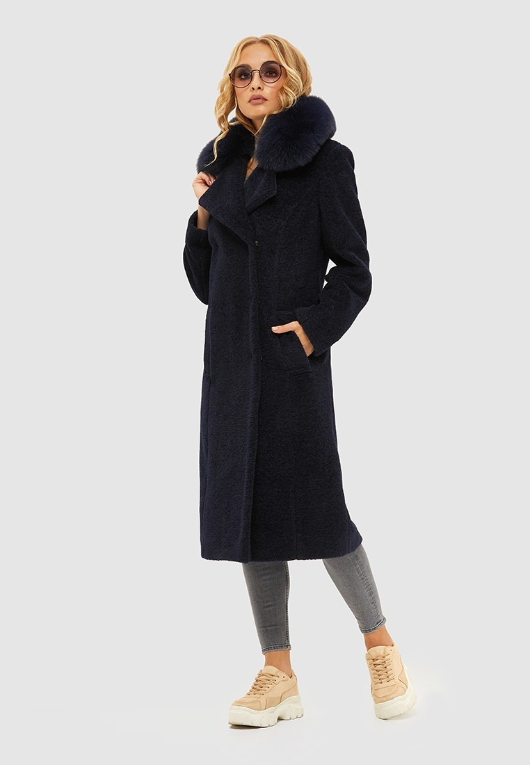 Шикарное зимнее пальто из альпаки 97 (42–50) в расцветках