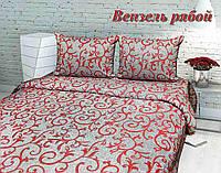 Комплект спального постельного белья ТИРОТЕКС евро макси жатка - 100% хлопок