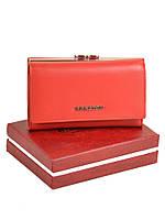 Женский кожаный кошелек  BRETTON Red