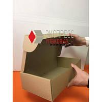 Коробка картонная 370 х 210 х 90 мм, самосборная