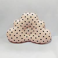 Ортопедическая подушка для младенца masterwork cloud 25*36 см. персик