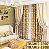 Ткань для штор Shani TRAVIS-2907 TRAVIS-2908, фото 2