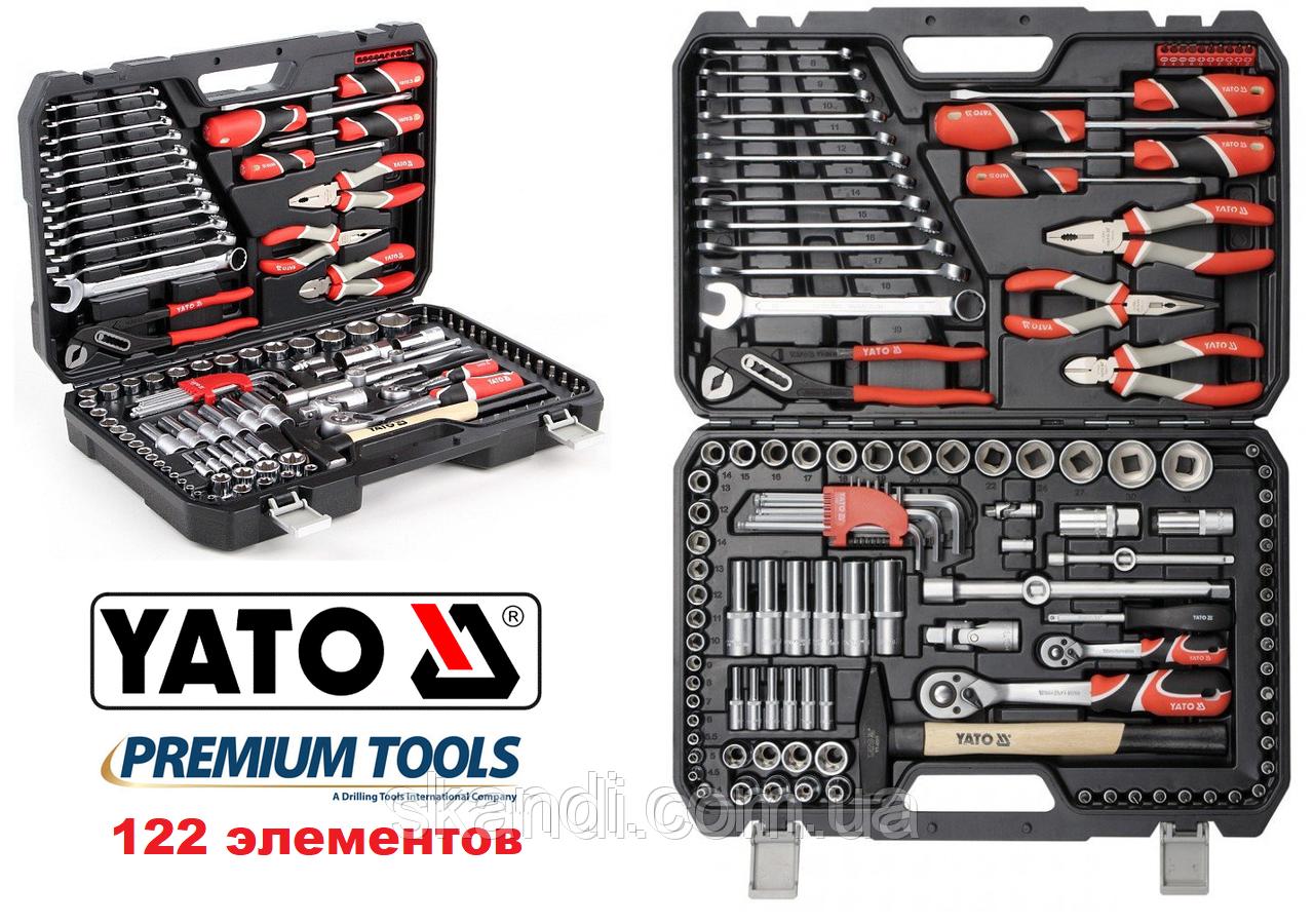 Набор инструмента для автомобиля универсальный Yato (Оригинал)Польша