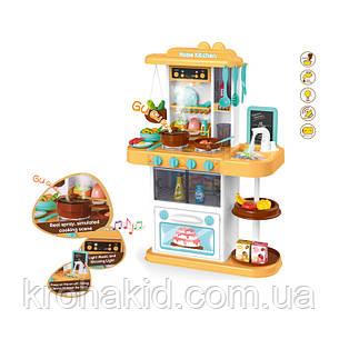 Большая детская игровая кухня 889-151 на 40 предметов, С КРАНА ТЕЧЕТ  ВОДА, ПАР, ЗВУК, СВЕТ 72х51,5х23,5 см, фото 2