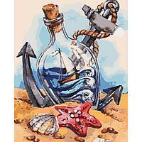 """Набор для росписи. Морской пейзаж """"Морское настроение"""" 40*50см"""