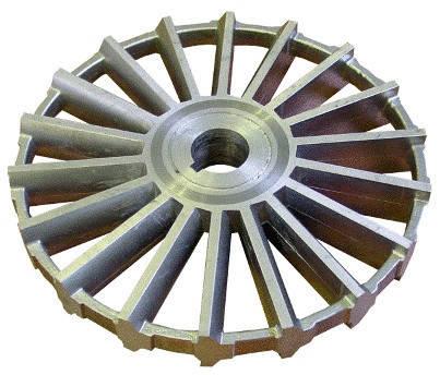 Колесо рабочее вихревое на Насос СВН-80 А, фото 2