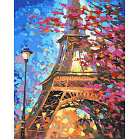 Малювання по номерах КНО2129 Фарби Парижа 40*50см