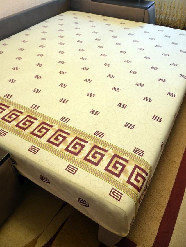 Простынь на резинке 160х200 см «Египет» in Luxury™ арт.32048