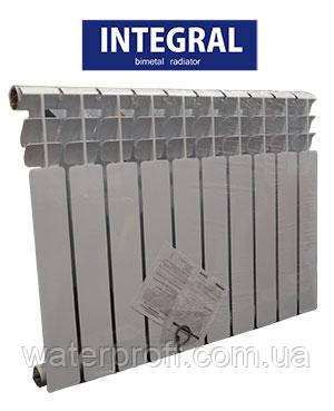 Радіатор Integral 500/80 біметал, фото 2