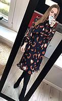 Стильное платье А-силуета ,Белорусская одежда