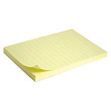 Блок паперу з липким шаром 100x150 мм,100 л., лін.