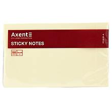 Блок паперу з липким шаром 75х125мм, 100л., жовтий