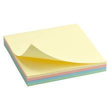 Блок паперу з липким шаром 75x75 мм, 100 л., паст.