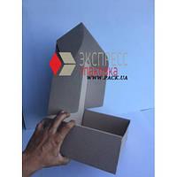 Коробка картонная 340 х 240 х 100 мм, самосборная