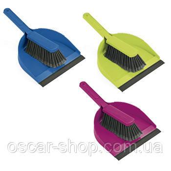 Набор: Щётка + совок Leifheit Classic Color  / Набор для уборки полов