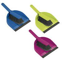 Набор: Щётка + совок Leifheit Classic Color  / Набор для уборки полов, фото 1