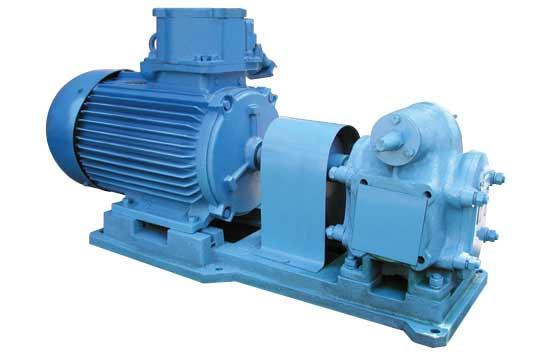 Насосный агрегат НМШ 8-25-6,3/2,5 Б с 1,5 кВт шестеренчатый для масла