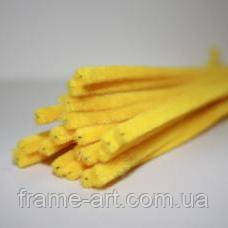 Синельная проволка 15 6х30мм 10шт желтый