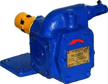 Насос НМШ 2-40-1,6/16 б/д, б/р шестеренчатый для масла, фото 2