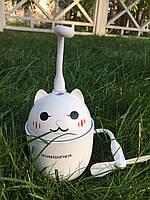 """Увлажнитель воздуха в детскую комнату, ультразвуковой""""Happy Cat"""" 3в1(,usb-вентилятор,led-светильник) Белый"""