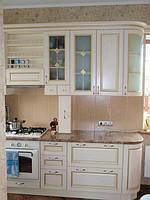 Кухня с патиной